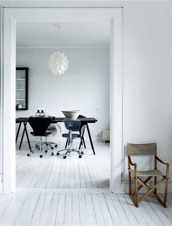 Black and white interior chicanddeco
