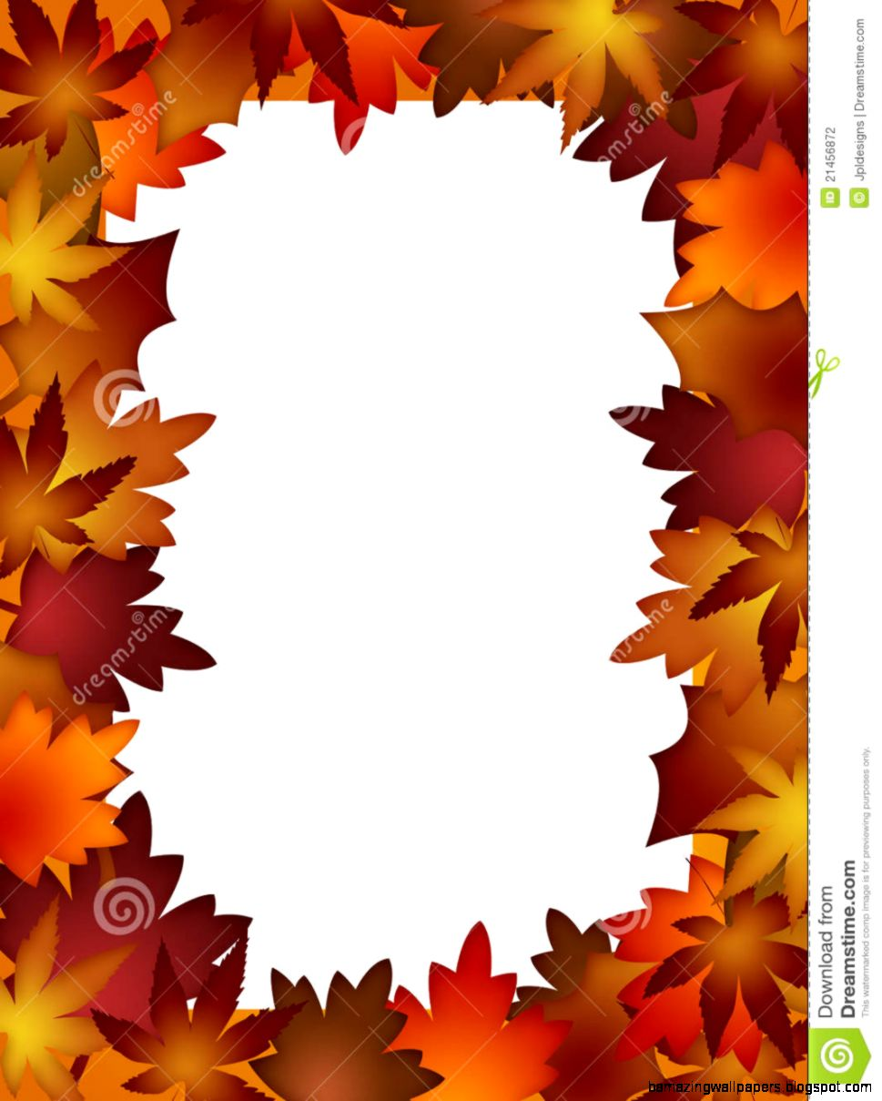 - Printable Autumn Leaves Border Amazing Wallpapers
