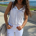 Spring is here : white outfit