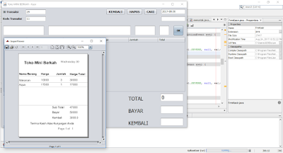 Download Aplikasi Kasir (Point Of Sale) Java