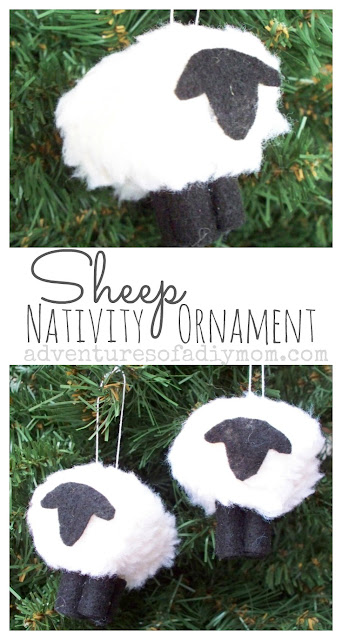 How to Make a Sheep/Lamb Ornament