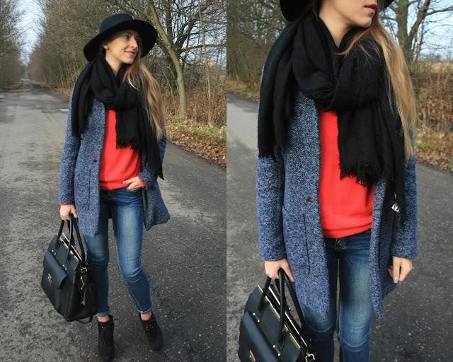 Lazy day outfit | Stylizacja z ulubionym płaszczem