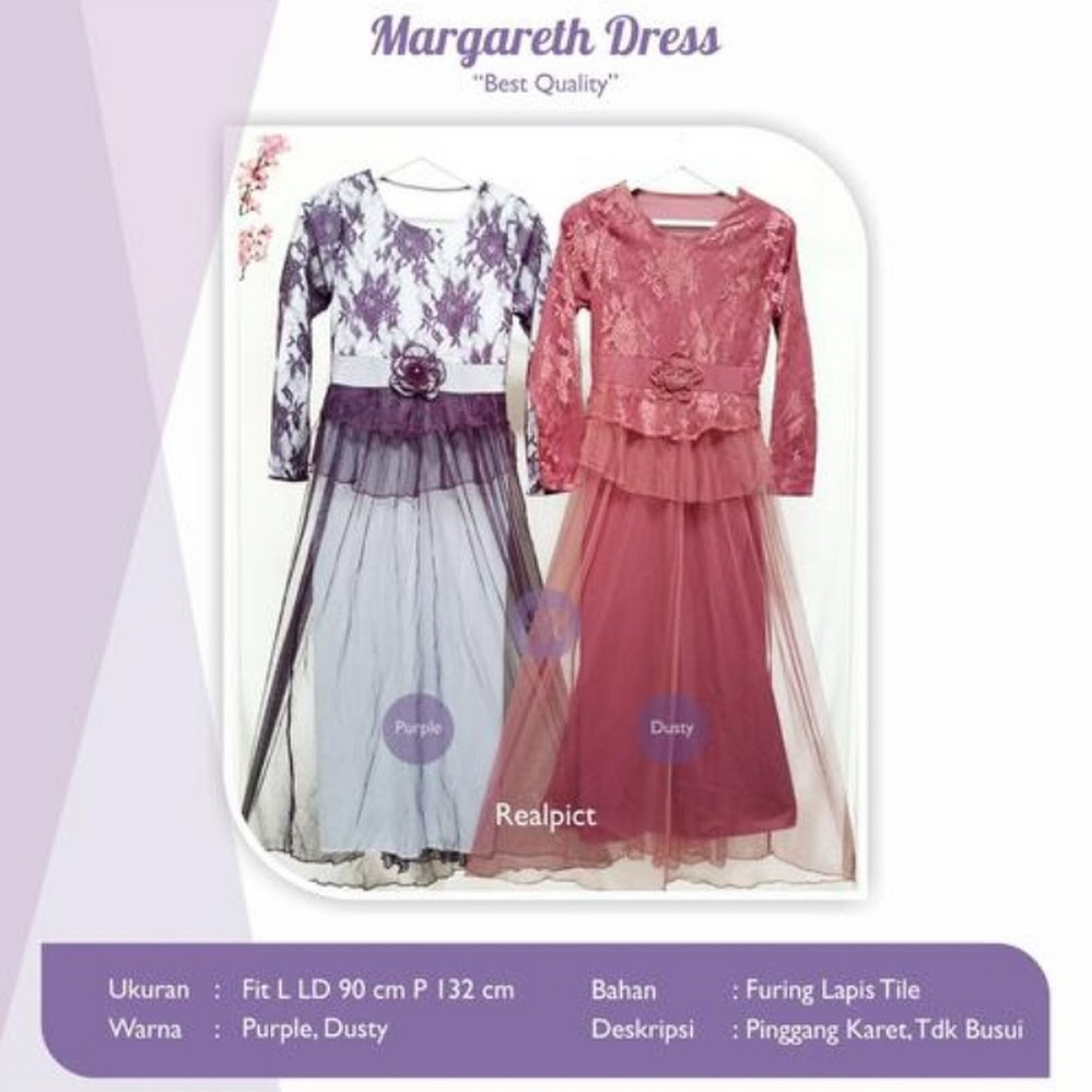 jual margareth dress