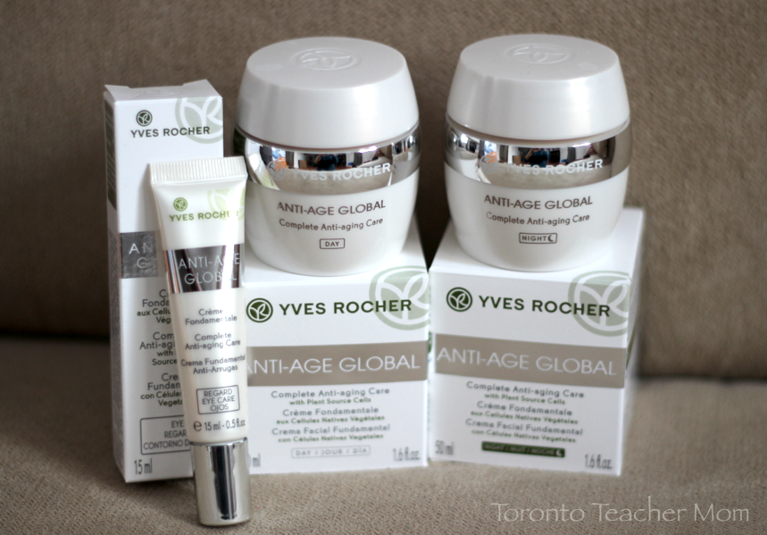Anti Age Global By Yves Rocher Toronto Teacher Mom
