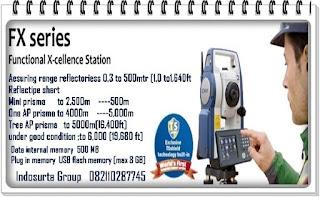 Toko total station sokkia  FX103  105 Terdekat di kota anda