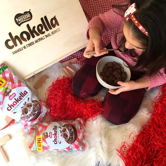 nestle chokella kakaolu ve fındık aramalı tahıl gevreği 3