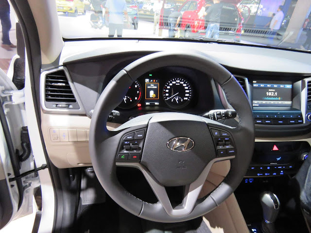 Hyundai New Tucson 2017 - interior