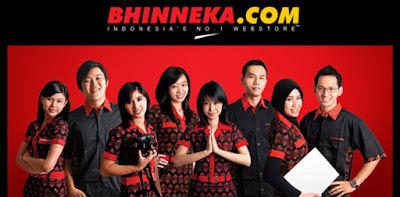 Lowongan Kerja PT Bhinneka Mentari Dimensi Min SMA SMK D3 S1 Rekrutmen Karyawan Baru Seluruh Indonesia