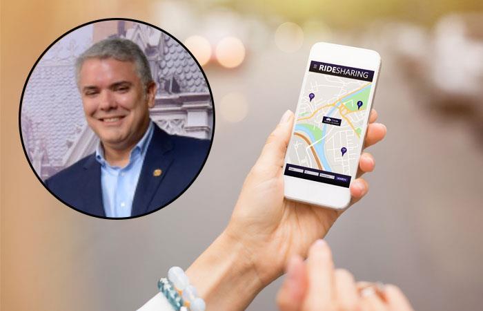 Gobierno respaldar proyecto para reglamentar plataformas como Uber