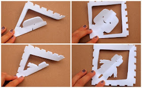 how to cut lego snowflakes tutorial