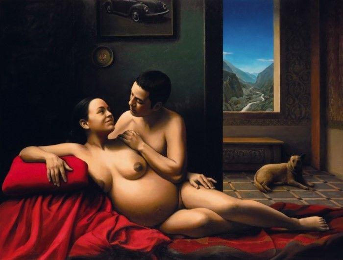 Честные фигуративные картины. Vita Di Milano