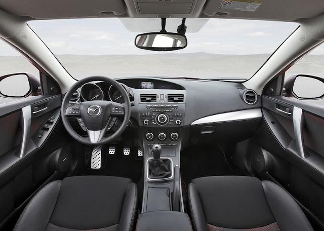 2013 Mazda 3 MPS Interior