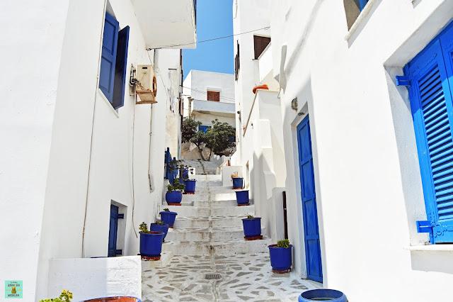 Chora, isla de Naxos (Grecia)