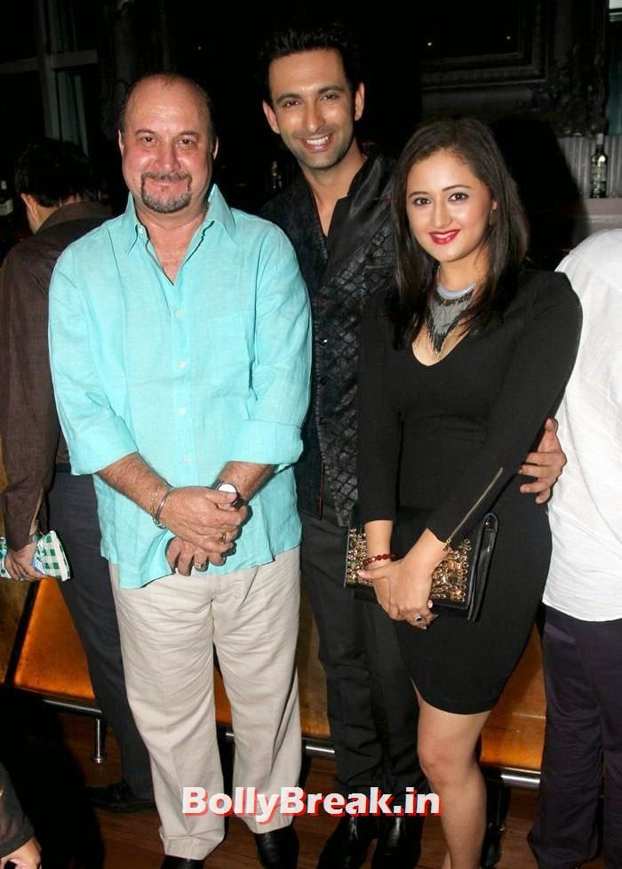 Raju Kher, Nandish Sandhu, Rashmi Desai, Daisy Shah, shibani Kashyap at Plot No 666 - Restricted Area Movie Music Launch