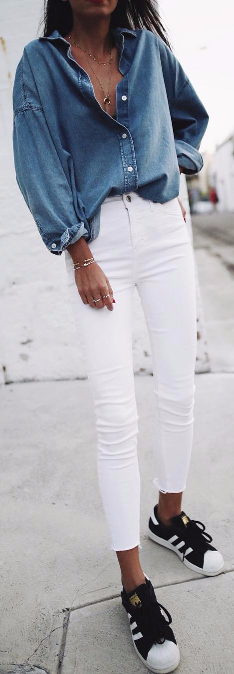 denim x denim perfection | street style basics