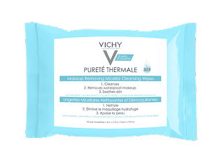 Vichy Purete Theramale is a 3-in-1 wipe