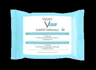 Vichy Purete Theramale is a 3-in-1 wipe