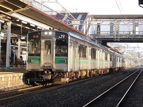 東北本線 矢吹行き1 701系