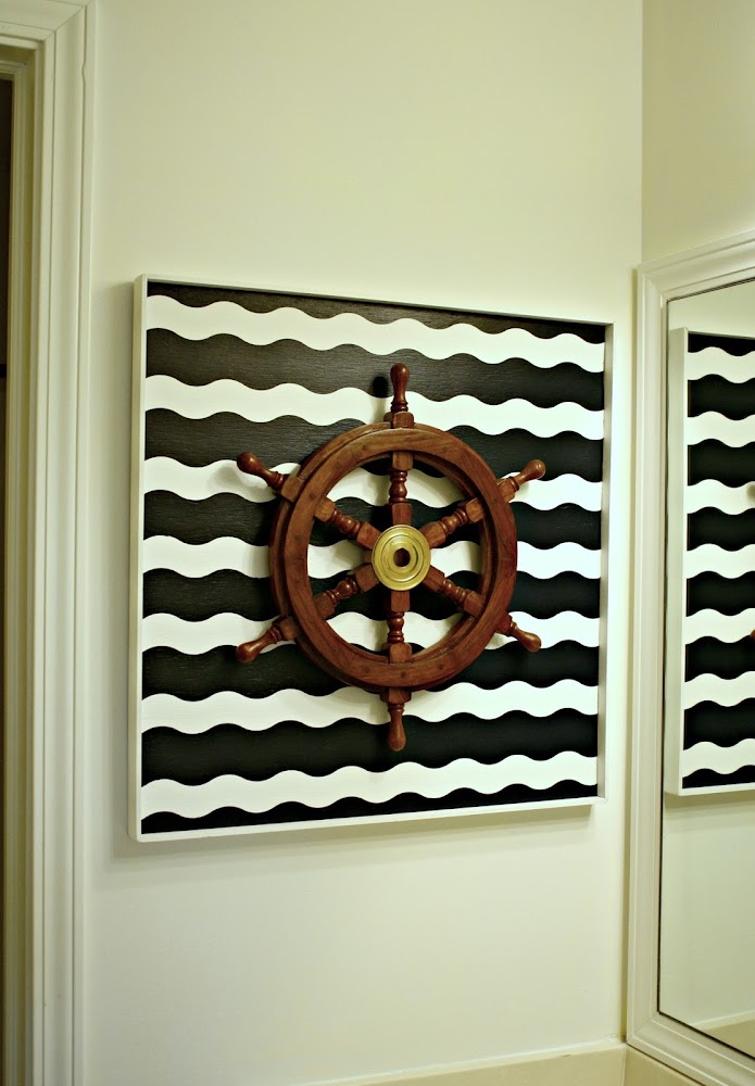 DIY nautical art
