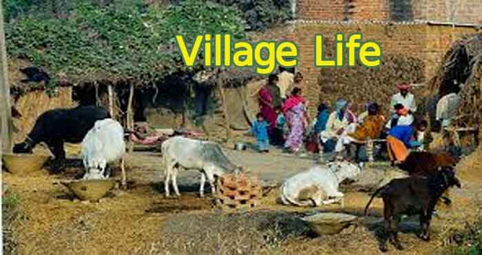 English Short Essay on Village Life with Quotations