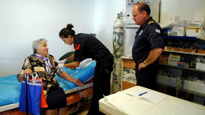 Πρόγραμμα προληπτικής ιατρικής για τους κατοίκους της Σαμοθράκης από στρατιωτικό κλιμάκιο ιατρών