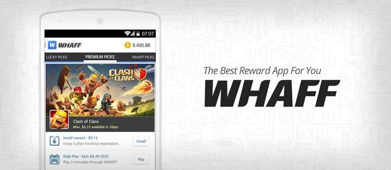 Trik Mendapat Dollar Dari Aplikasi Whaff Rewards