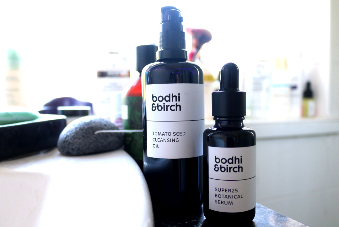 Bodhi & Birch Tomato Seed Cleansing Oil & Super 25 Botanical Serum
