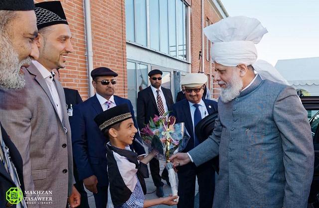 Times of Ahmad: Sweden: Khalifa of Islam arrives in Malmo