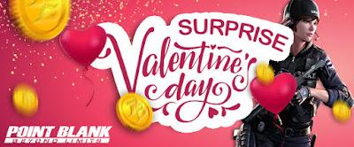 Event PB Zeppeto 14 Februari 2019 Surprise Valentine Hadiah PB Cash Gratis