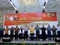 Apel 3 Pilar, Gubernur Ridho Siap Amankan Pileg dan Pilpres 2019