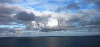 Stratocumulus clouds over the Atlantic: A tipping point ahead? (Image Credit: MAClarke21, via Wikimedia Commons) Click to Enlarge.