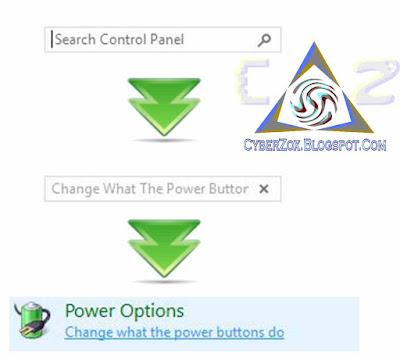 Power Options Settings