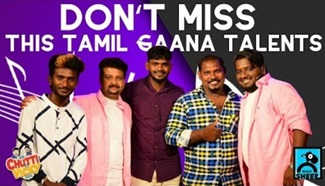 Dont miss This Tamil Gaana Talents | Chutti Vicky Shorts | Black Sheep