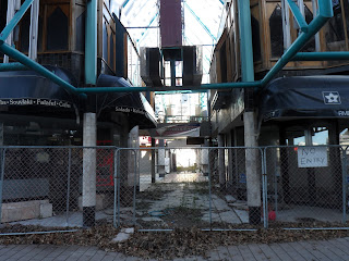 Woza wanderer youre the first person outside of cera nzdf to gloucester st view of weedy abandoned chancery lane arcade awaiting demolition for nz govts ccdus blueprint convention centre malvernweather Gallery