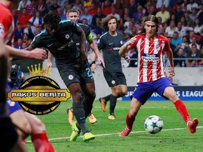 Gol Telat Batshuayi Kalahkan Atletico Madrid Skor 1-2