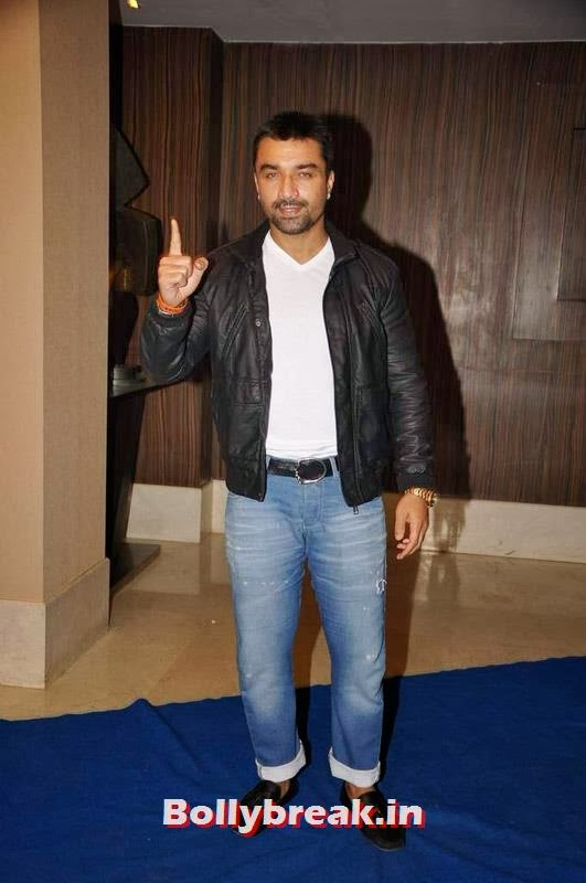 Ajaz Khan, Sophie, Manjari at Toshi Sabri's Wedding Pics