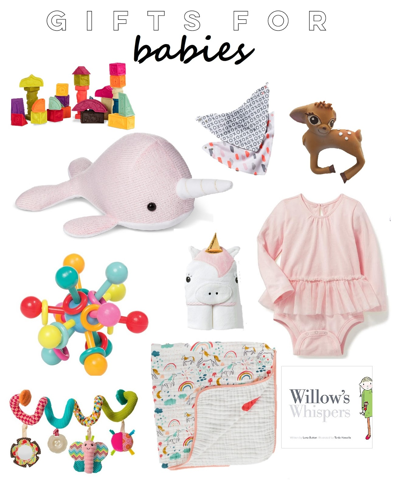 Christmas Gifts for Babies + Toddlers | Life as a Noel