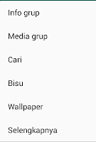 Cara Mematikan Pemberitahuan Grup Whatsapp