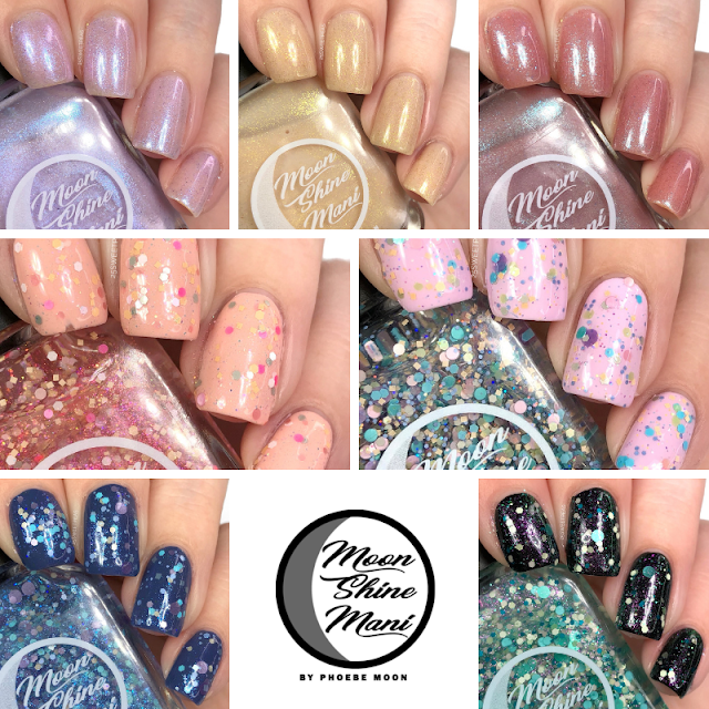 Moon Shine Mani Let's Make Some Magic Collection 25 Sweetpeas