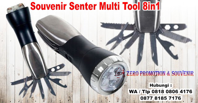 Souvenir Kantor Senter Multi Tools, Senter Multi Fungsi 8In1, Senter Multi Tool LED, 8 in 1 Torch Multi-function Swiss Knife Tool Set, Jual Senter Multi-Tool, senter led mini multifungsi Tools
