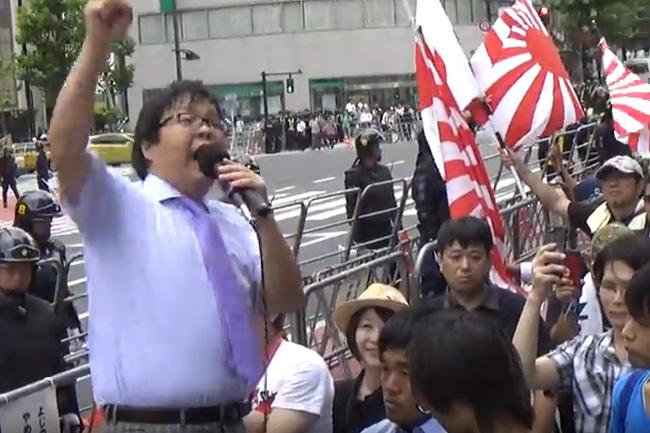 桜井誠 新党結成宣言2