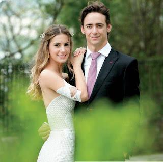 Esteban Gutierrez y su esposa
