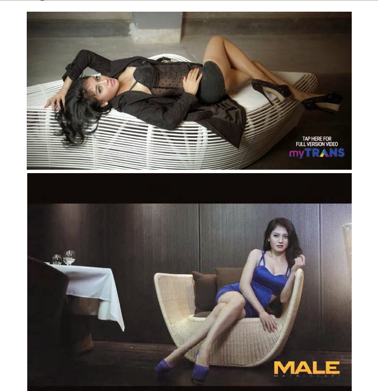 Lina Marlina - Male Magazine Edisi 129 17 APR 2015 - 24 APR 2015
