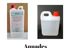 Pengertian aquades, manfaat dan kegunaannya