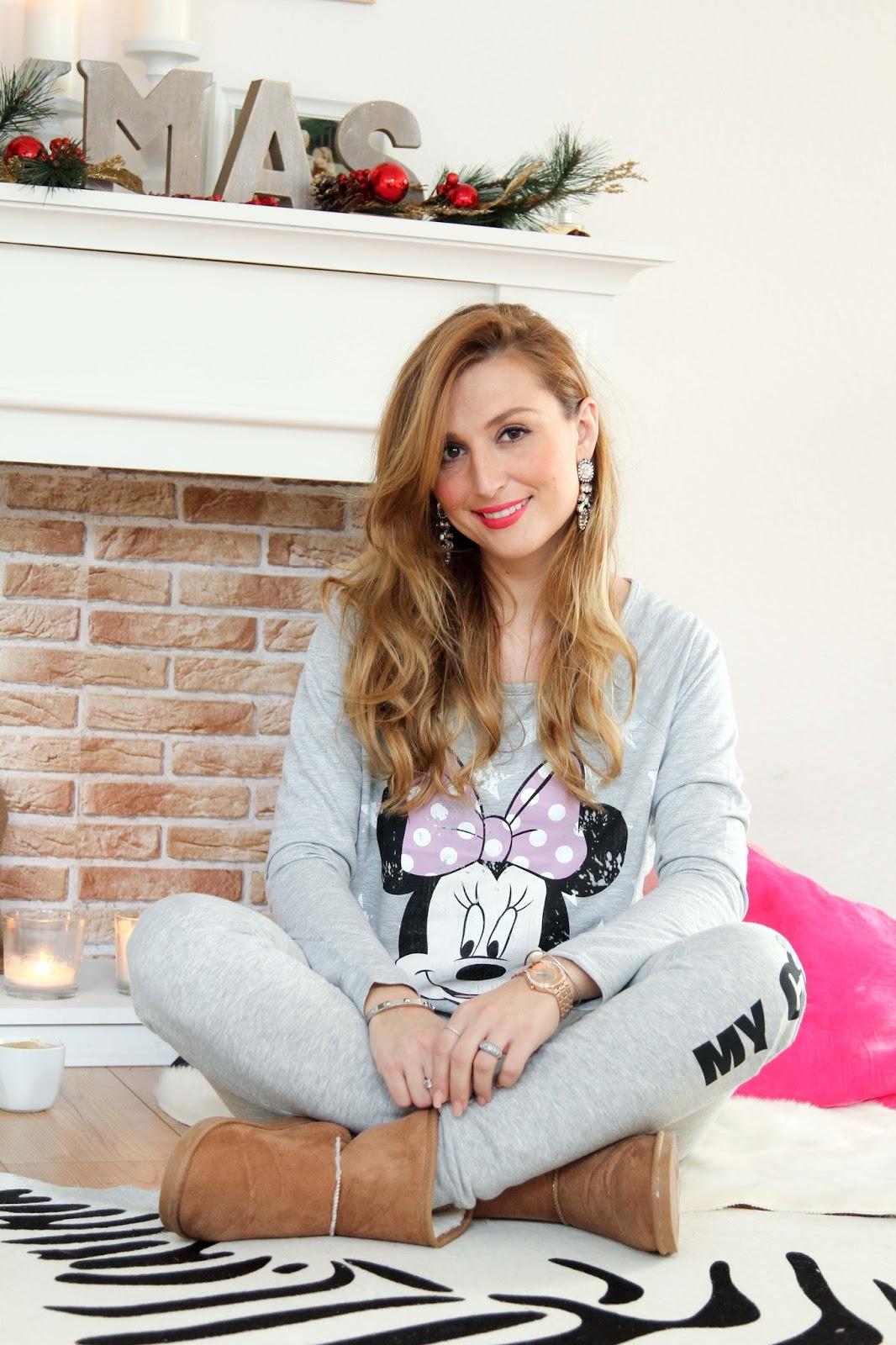 cozy-look-weihnachtslook-gemütlicher-style-cosy-ugg-boots-pyjama-look
