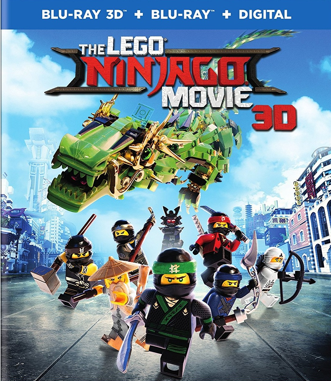 The Lego Ninjago 3D [Latino]