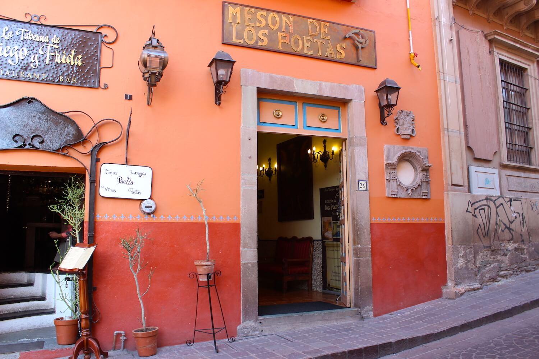 guanajuato hotel meson de los poetas very beautiful