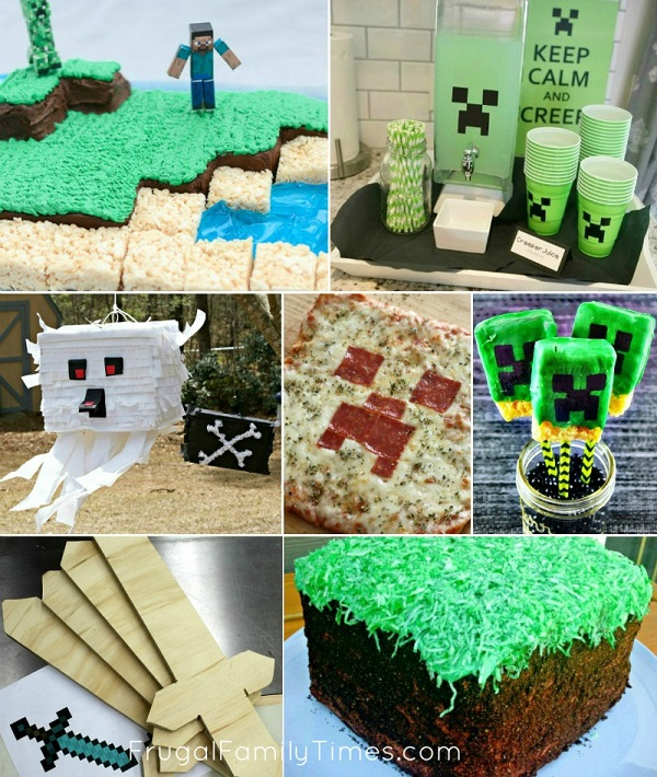 minecraft food ideas