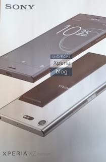 Rò rỉ thiết kế Sony Xperia XZ Premium, màn hình 4K