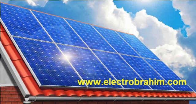شرح  الالواح  الشمسية   PV solar panels